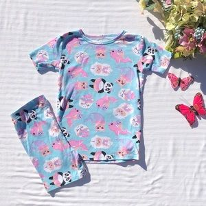 Children's Place Narwhal Mermaid Snug Fit PJ Set
